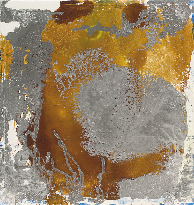 #2041, Silver Painting