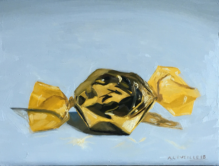 Untitled (gold foil candy)