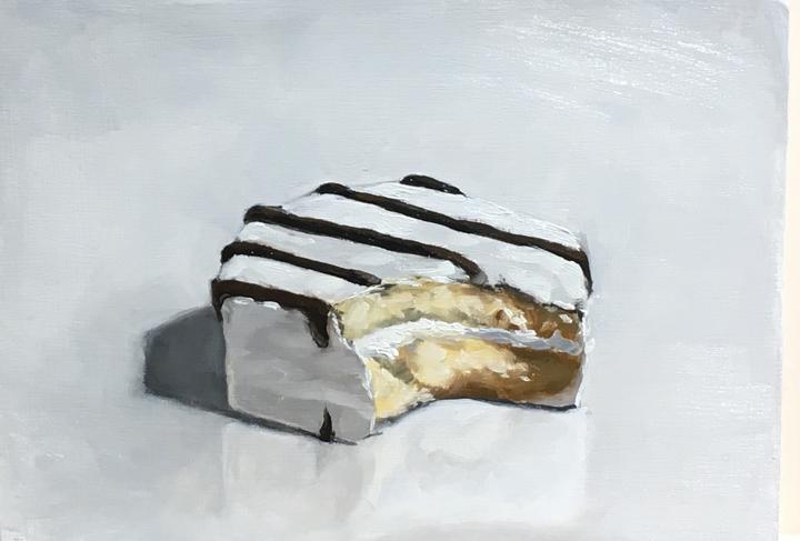 Untitled (zebra cake)