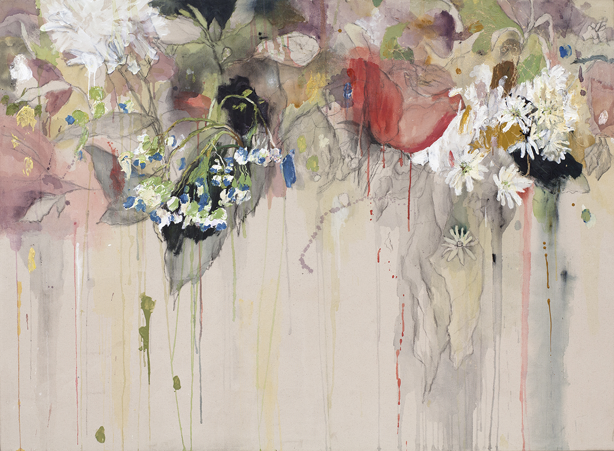 Falling Flowers