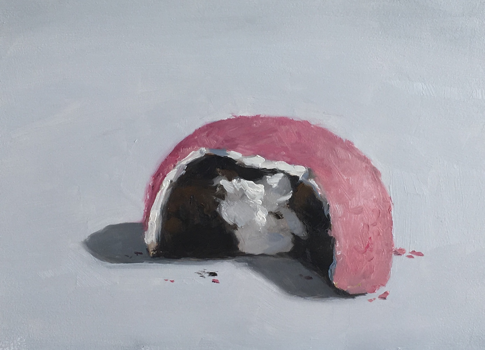 Untitled (pink snoball)