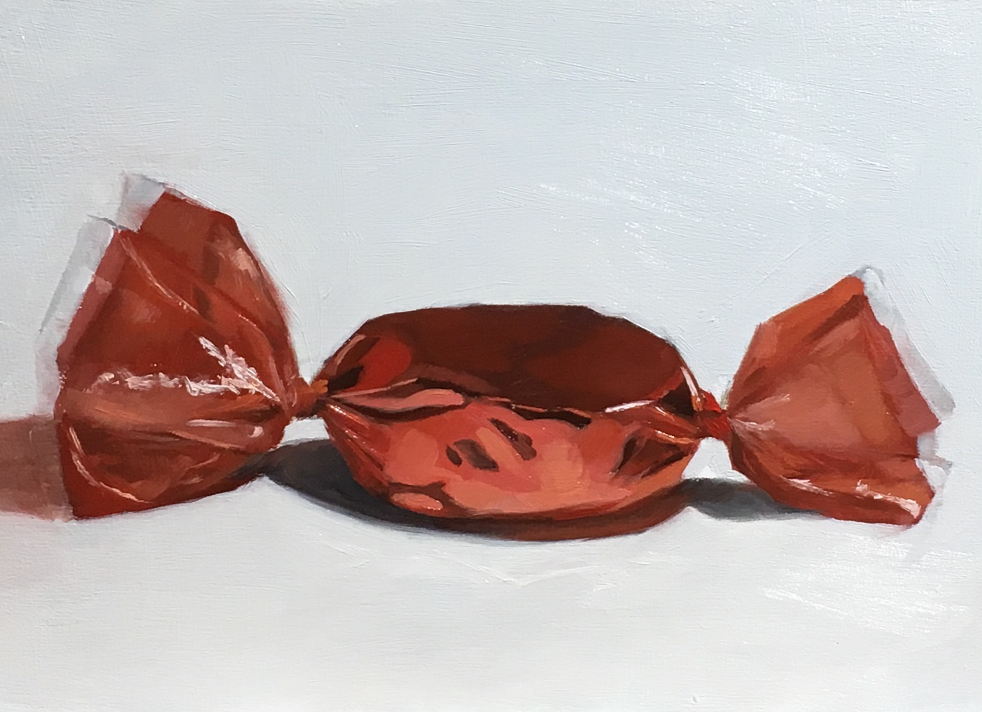 Untitled (red foil candy)