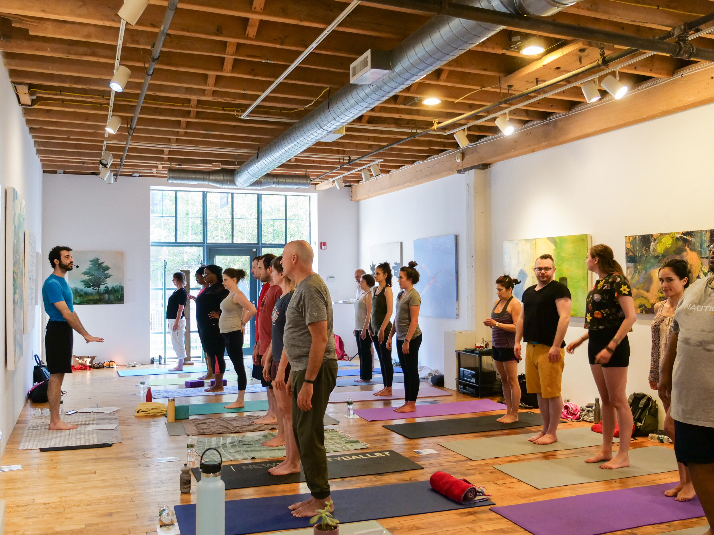 weekly host of pop-up yoga classes! click the image for more details.