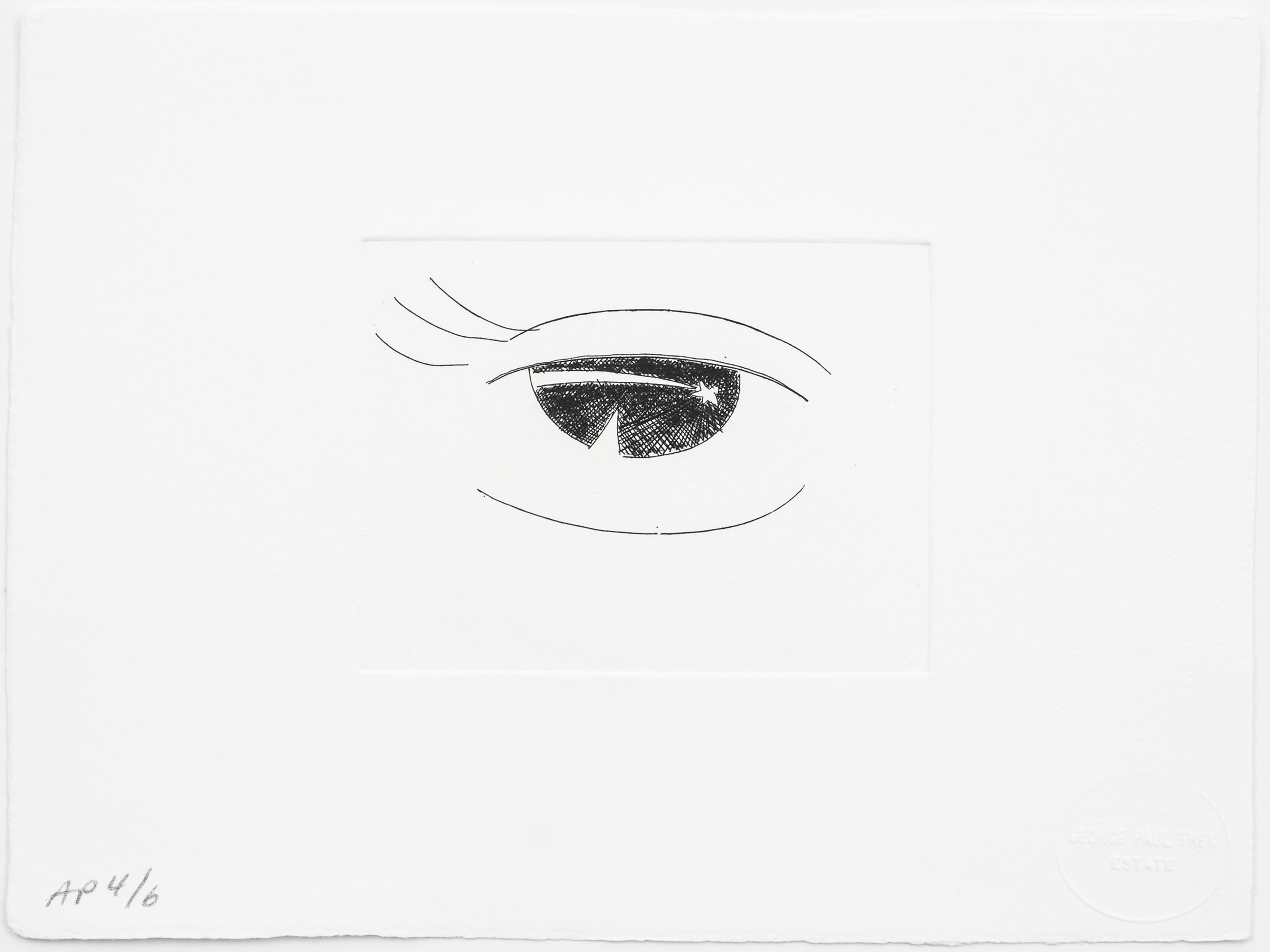 Paul Thek Untitled (Eye)