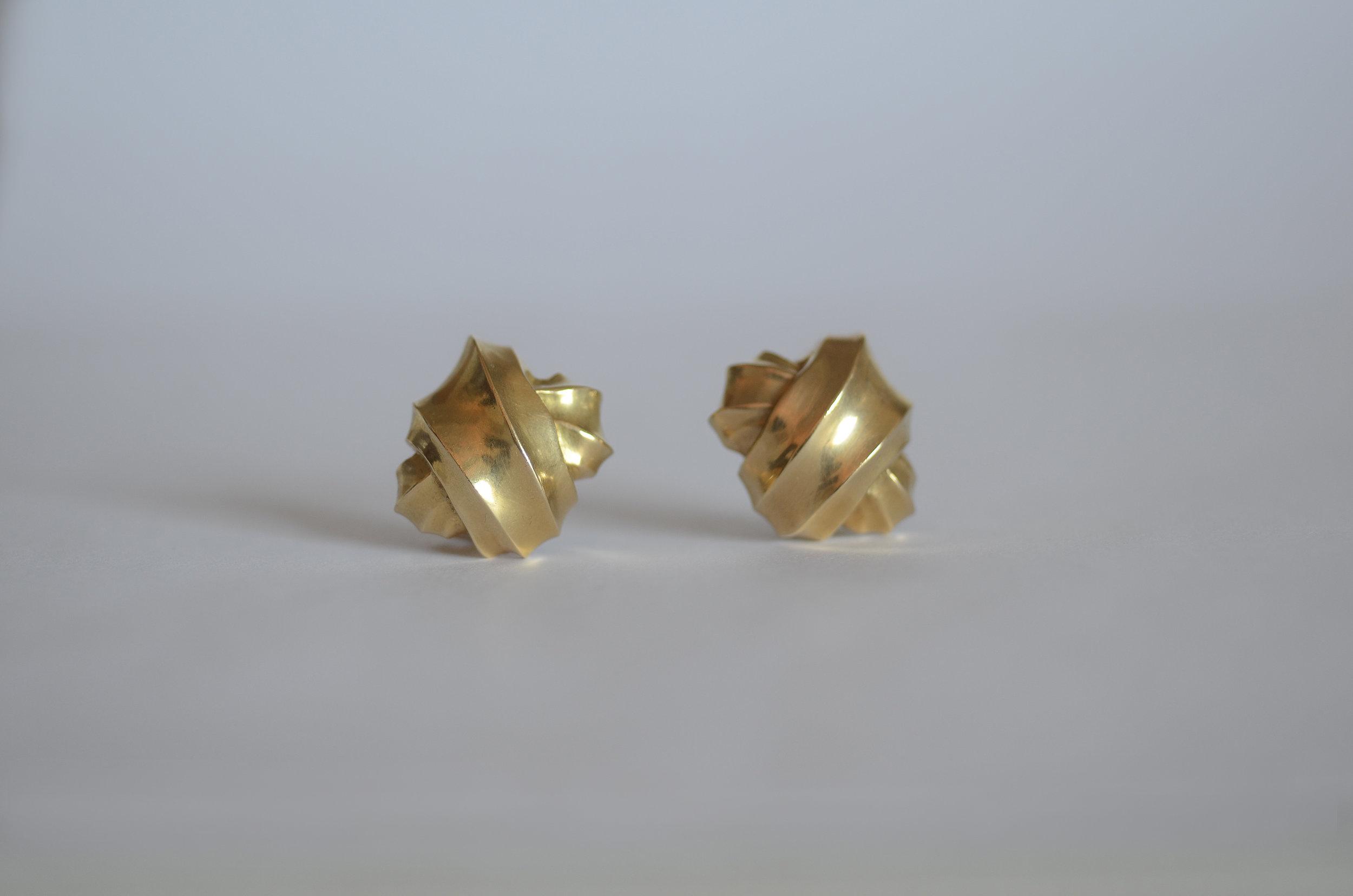 Angela Cummings 18kt Yellow Gold Earrings