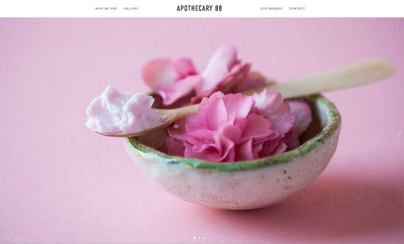 Apothecary 88 - Sample of the FOUNDATION Website Offer