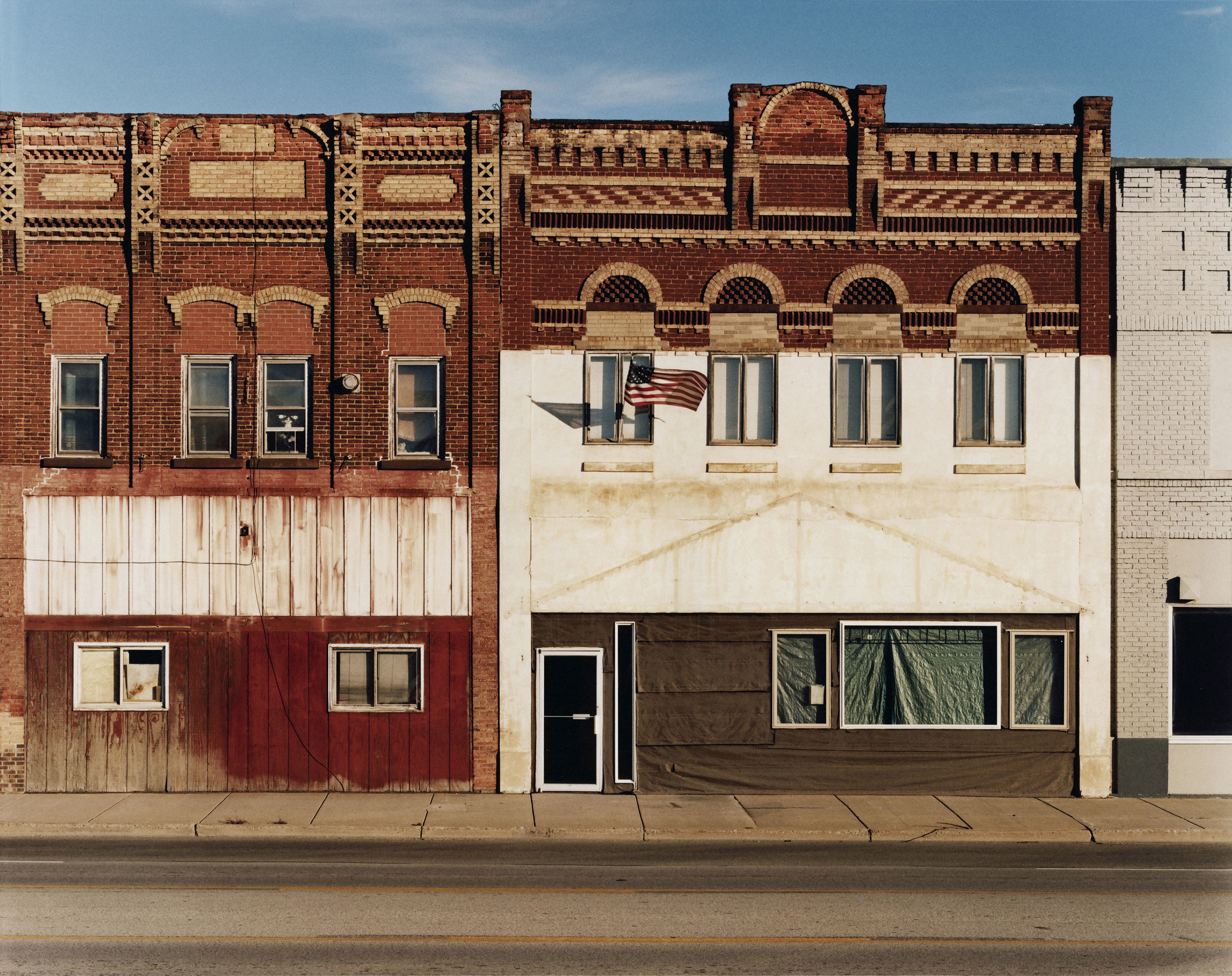 """Main Street and Flag,"" by Brandon Schulman, Indiana, 2011"