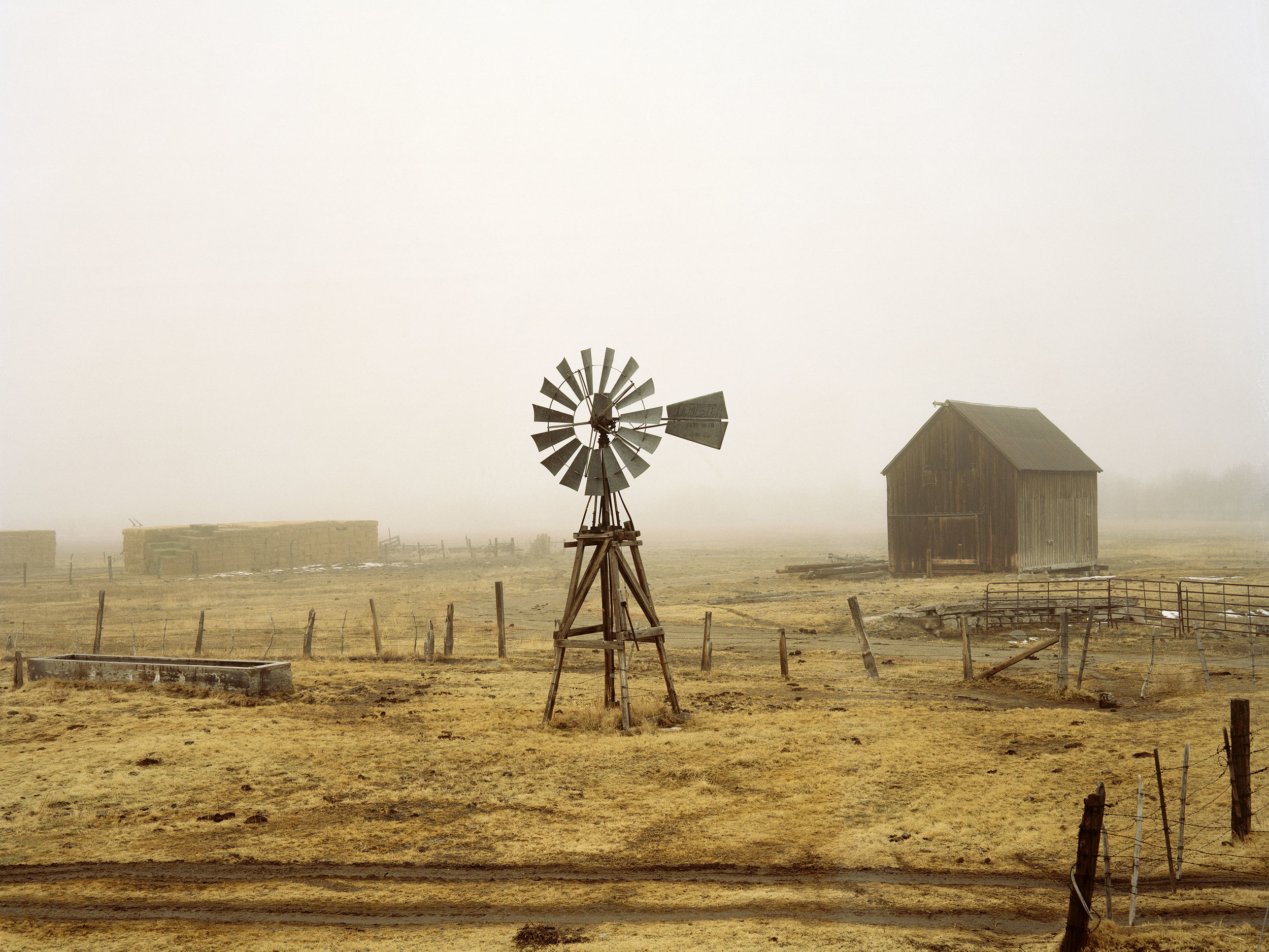 "From Brandon Schulman's photographic study  A Portrait of America Left Behind : ""Windmill,"" Carson City, Nevada, 2010"