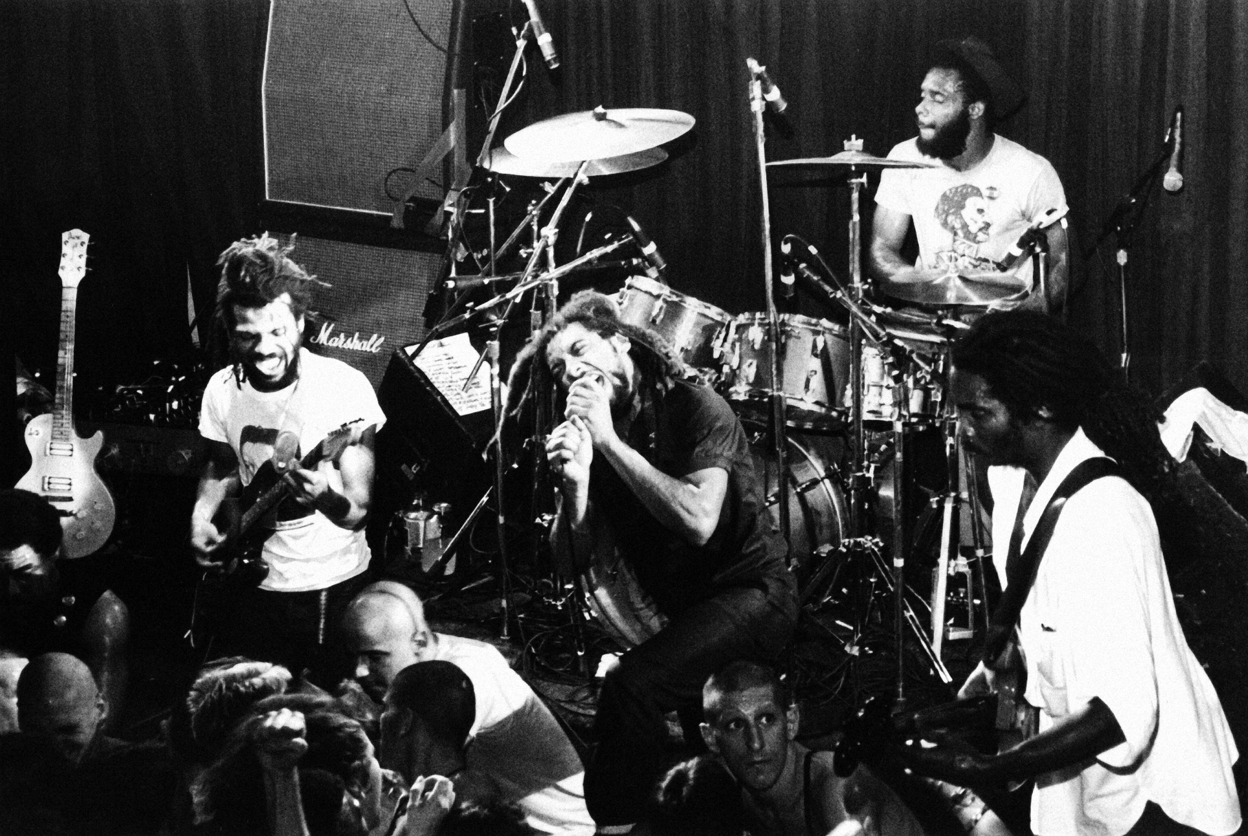 Bad Brains, performing live at Rock Hotel, in New York City