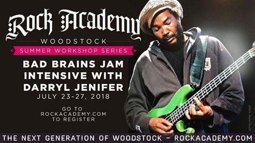 Darryl Jenifer works with youth at Rock Academy