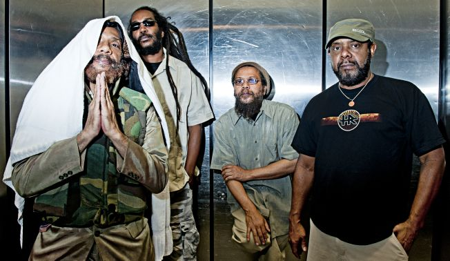 Bad Brains promo picture used for a string of shows with Wu-Tang Clan rapper GZA