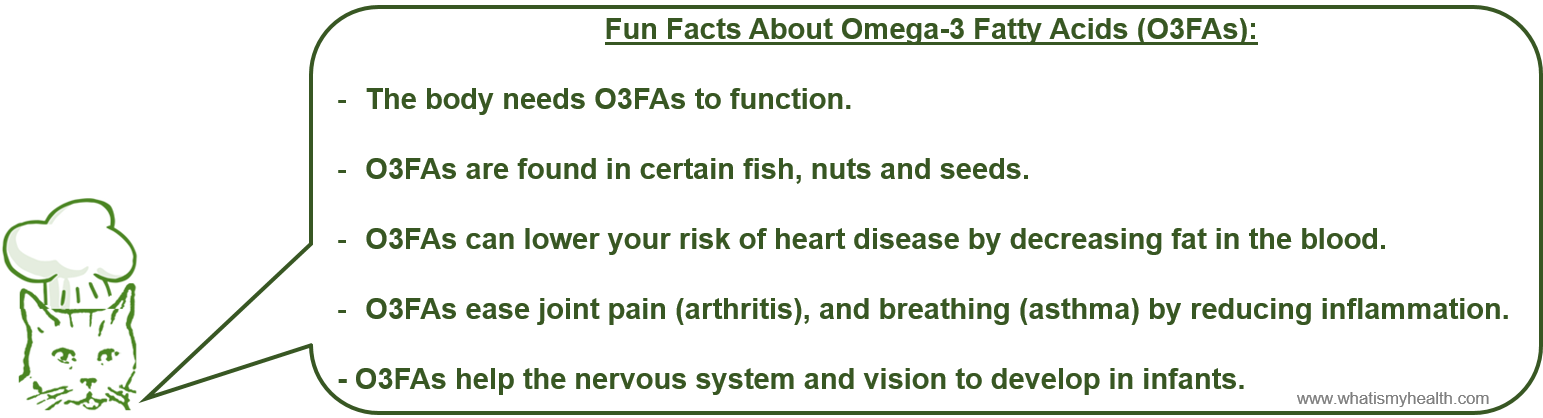 Source: http://www.webmd.com/healthy-aging/omega-3-fatty-acids-fact-sheet Graphic: Michael Trovato