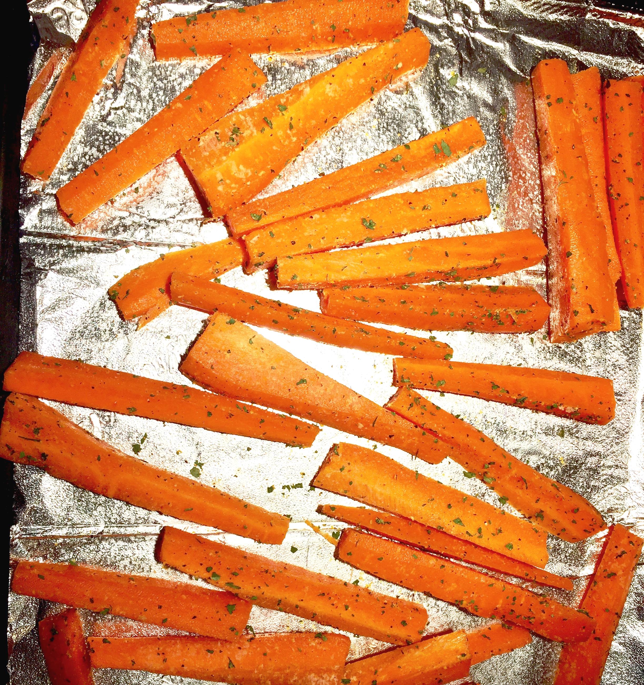 """Carrot """"chips"""""""