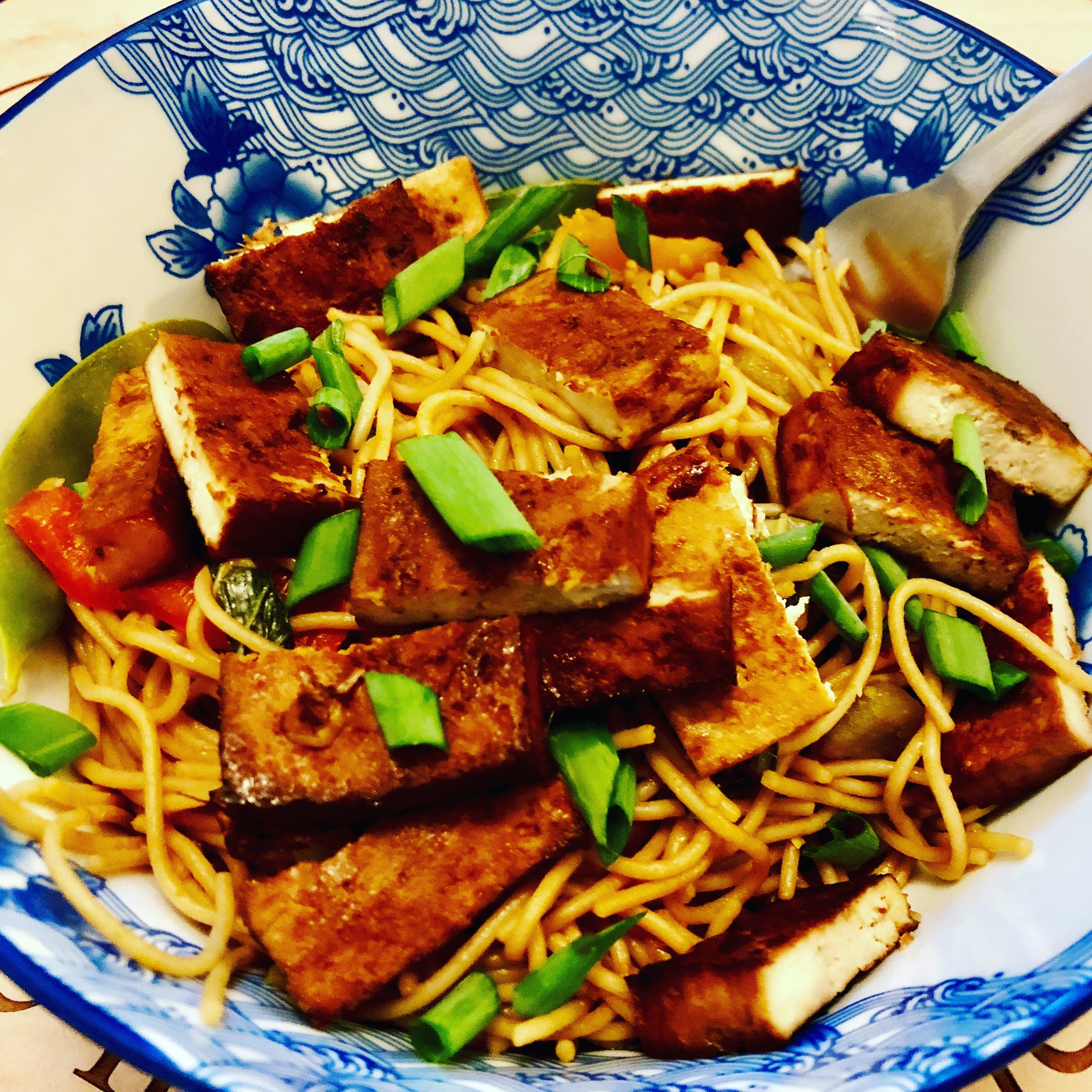 Tofu Chow Mein Photo credit: Alyssa DelSoldato