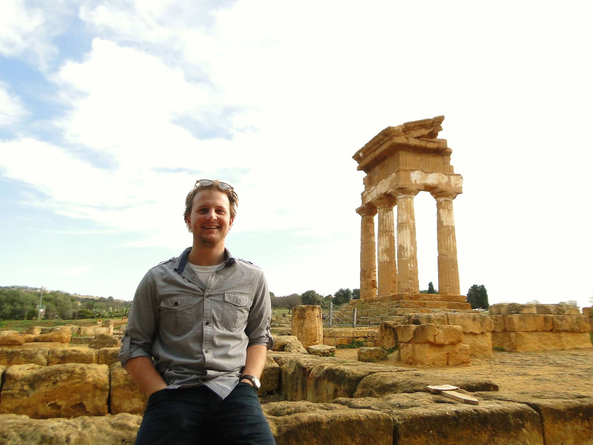 BVC Rome 2013 Jake Harris ancient ruins.jpg