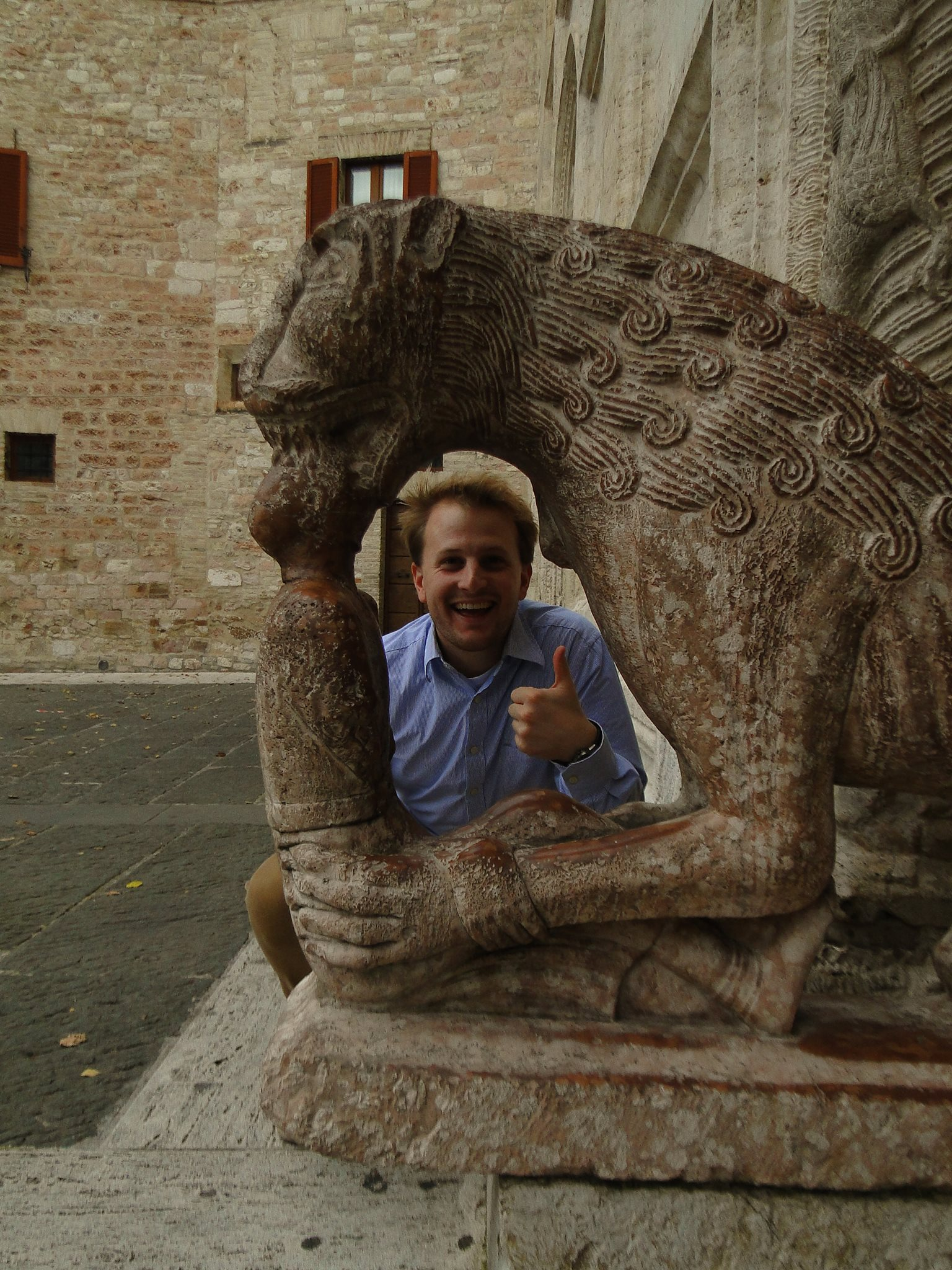 BVC Rome 2013 Jake Harris statue.jpg