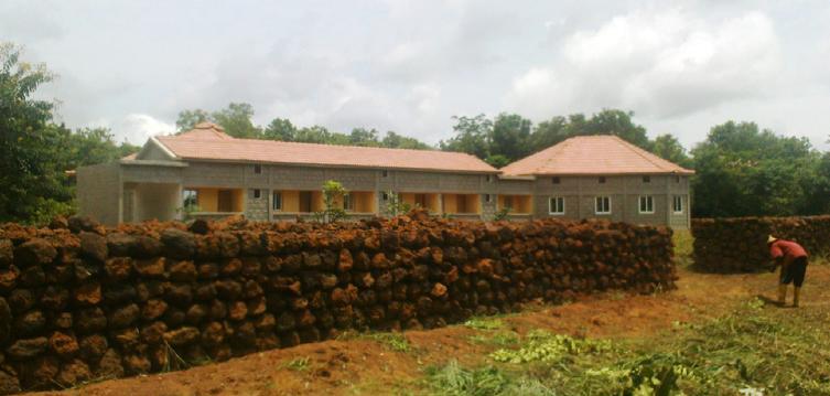 BVC Togo 2010 monastery building.JPG