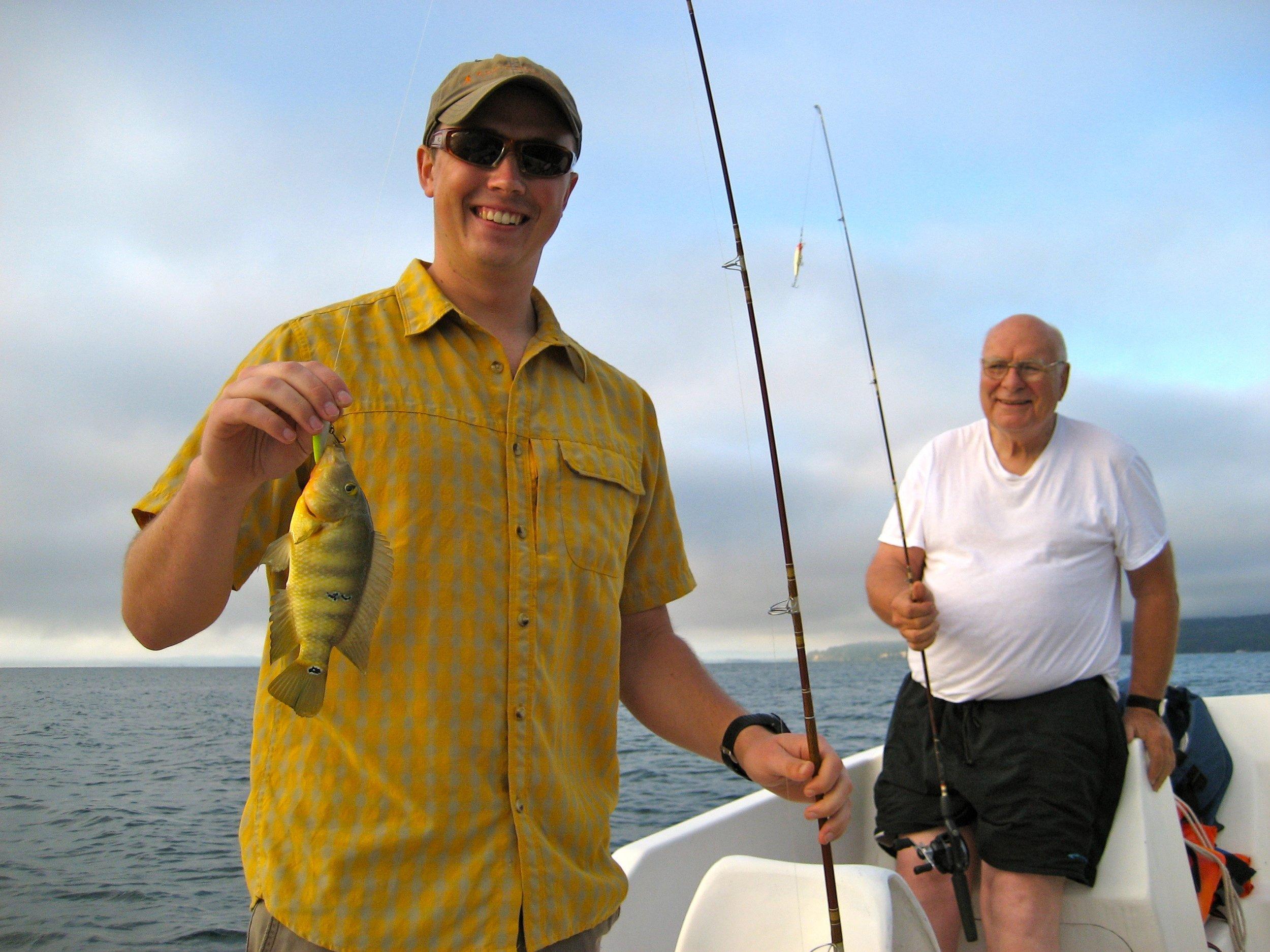 BVC Coban 2009 Pat Deering Fr. Bernie fishing.jpg