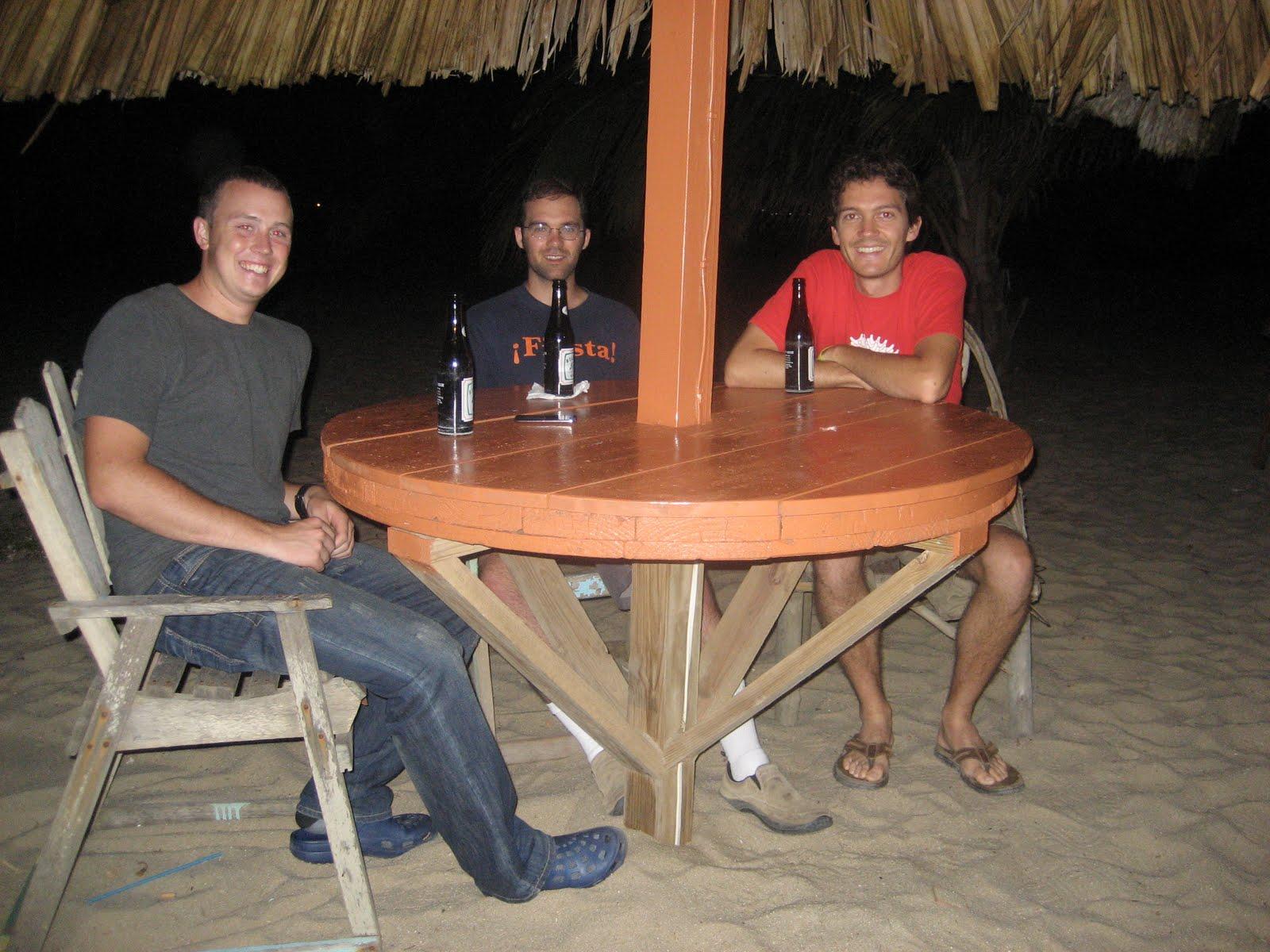 BVC Coban 2009 Pat Deering Matt Ott Luke Ekelund in Belize.JPG