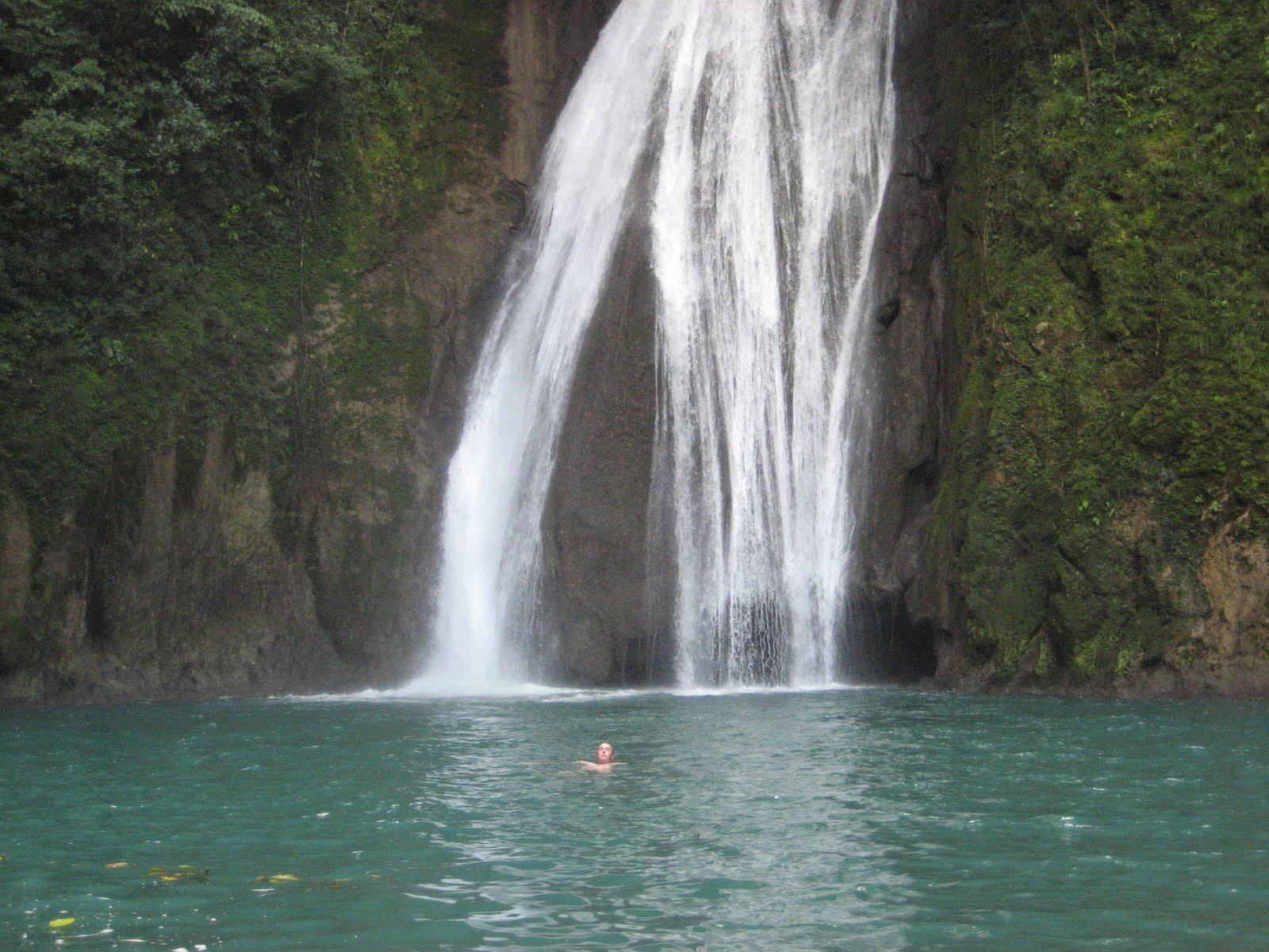BVC Coban 2009 Pat Deering waterfall.JPG