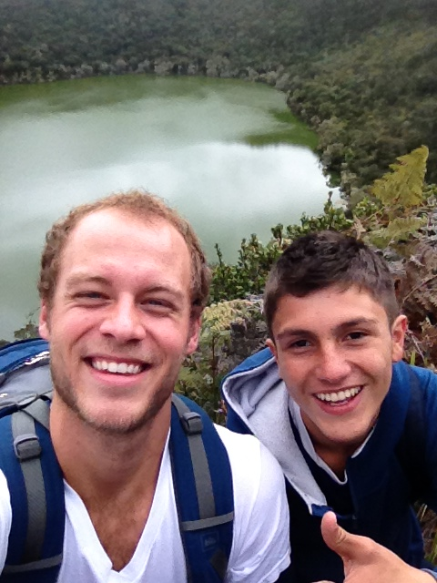 BVC Bogota 2013 Nick Olsen with friend.JPG