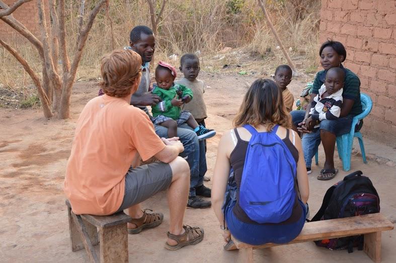 Katibunga - Joseph Interacting with Villagers.JPG