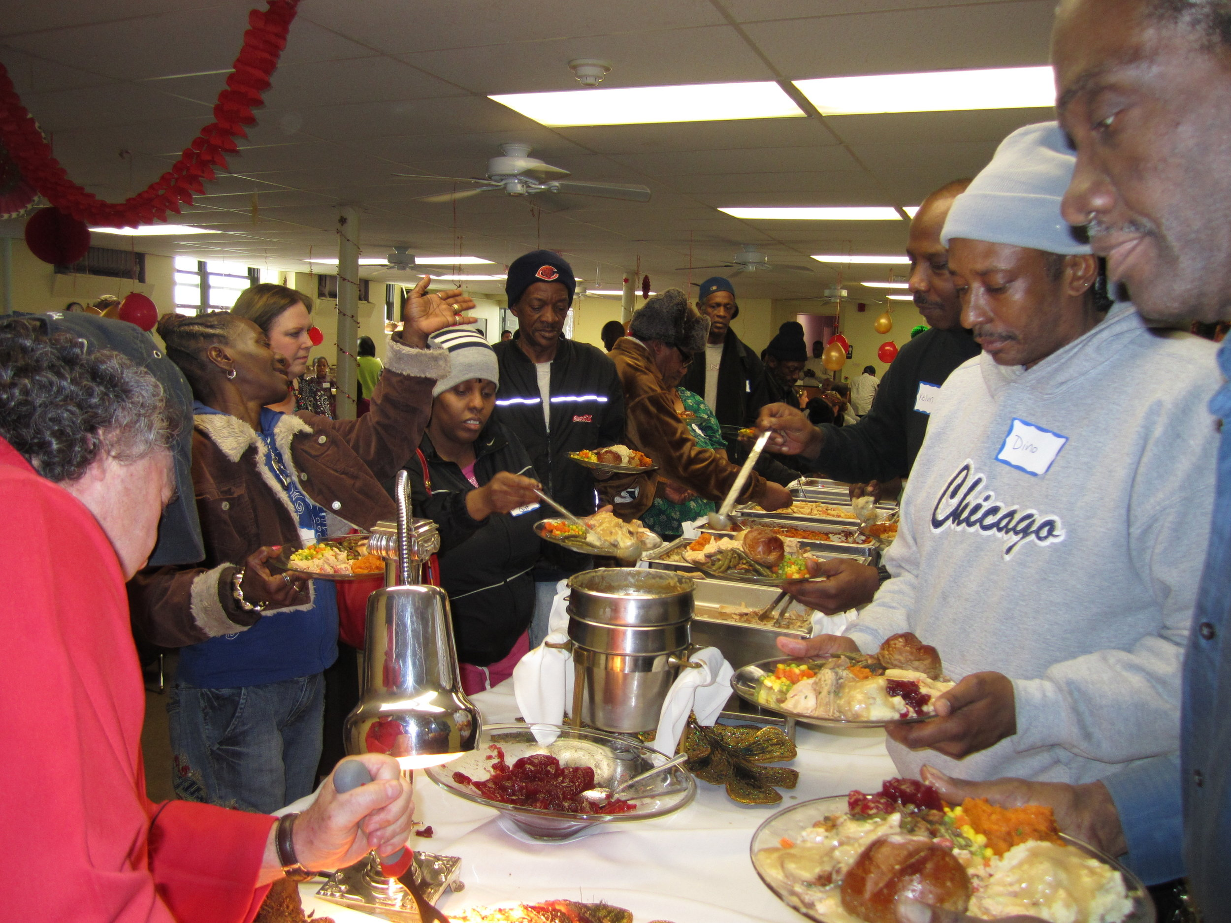 BVC Chicago 2011 Christmas reception for homeless.jpg