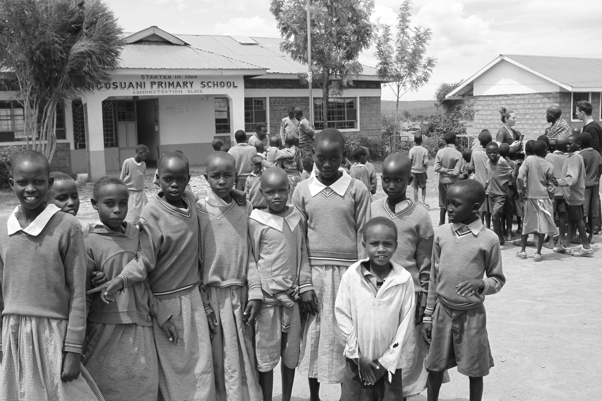 CHANGE HEROES - A philanthropic project to benefit the children of Ngosuani–a rural village of Kenya–in partnership with WE Charity.