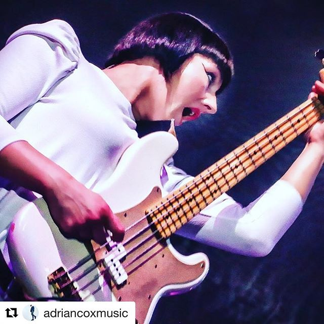 """WHAT HE SAID 😃 #Repost @adriancoxmusic with @get_repost ・・・ Congratulations to my girlfriend @andreagoldsworthy for making the shortlist for """"Hottest Bass Players in the World"""" poll  in #bassmagazine & #bassplayermagazine ..... I have put a link in my bio .... she would love it if you voted ;) ............................... 📷 @edfielding  #bass #bassplayer #voting #andreagoldsworthy #palomafaith #musician #linkinbio #bassguitar #lovethebass #like #voting #musicscene #edfieldingphotography"""