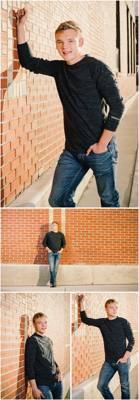 Jonathan Henke, Shelby Senior. Sagebrush Studio Photography