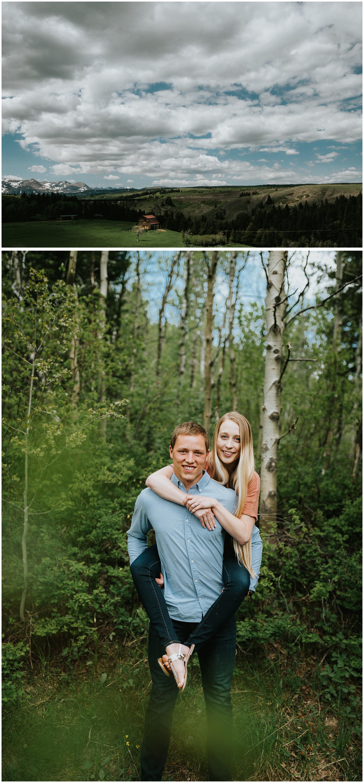 Glacier National Park Engagement. Sagebrush Studio Photography. Shelby, Montana.