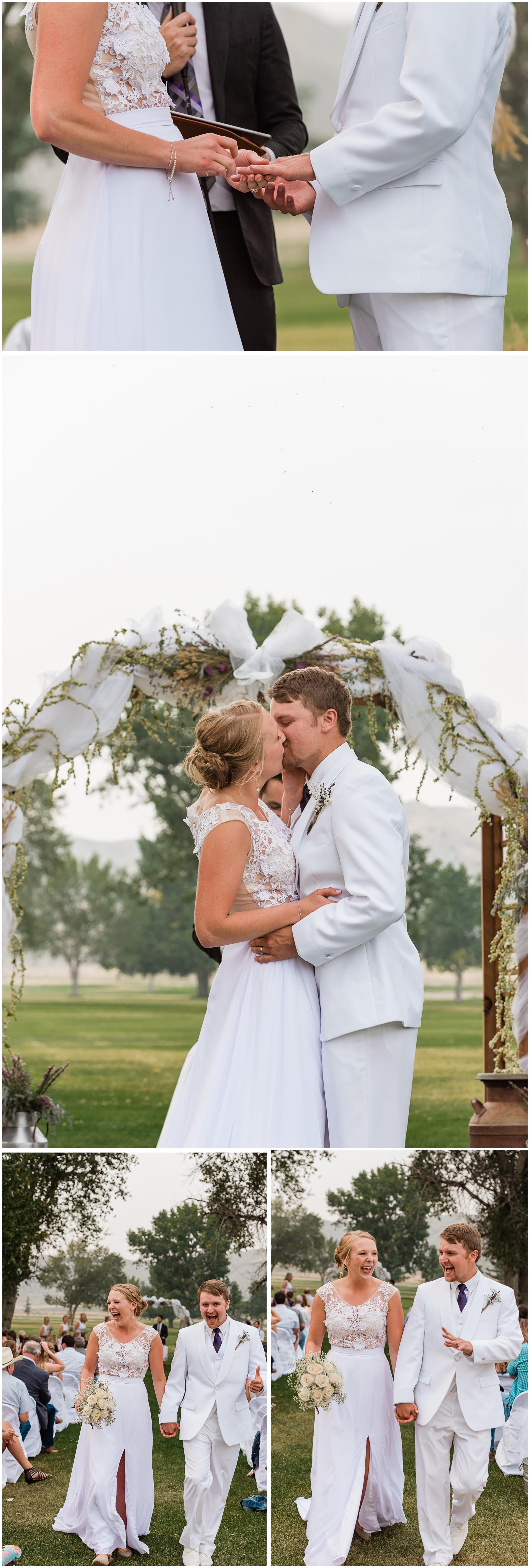 Smoky Montana Wedding
