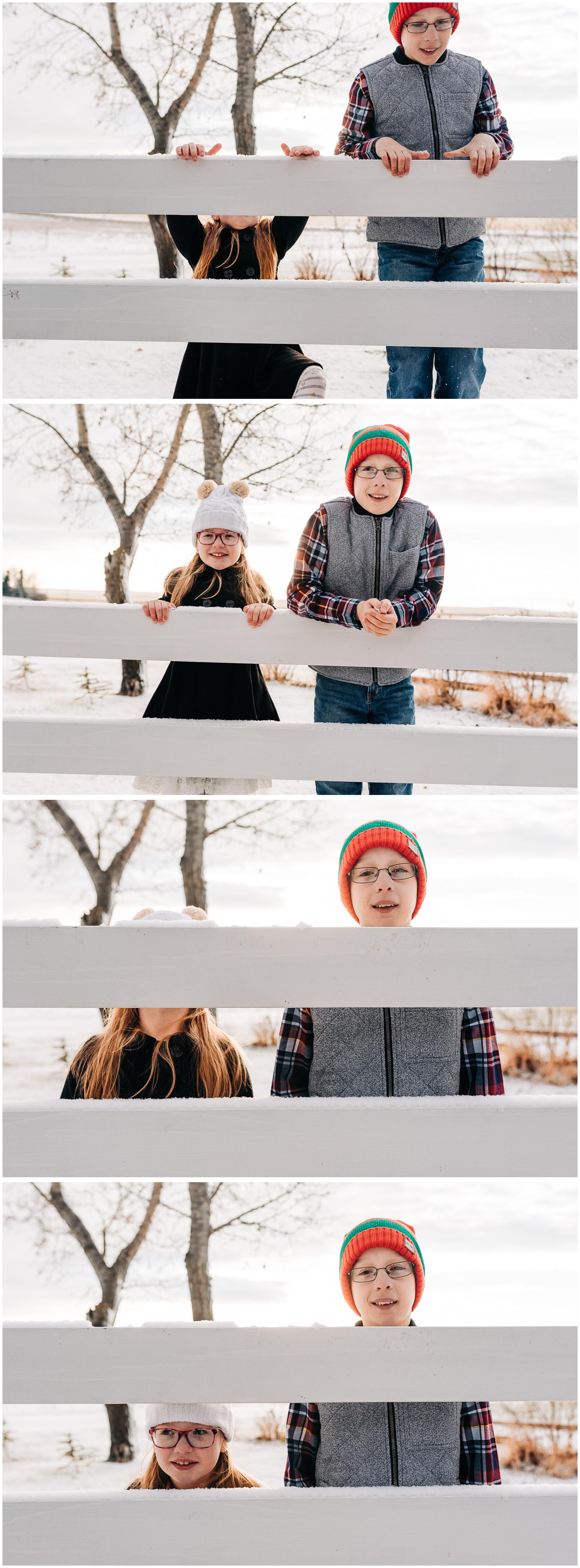 Winter Wonderland Family Session