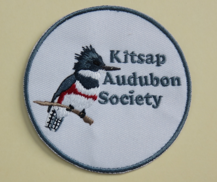 Kitsap Audubon Patches $5 plus shipping and handling.