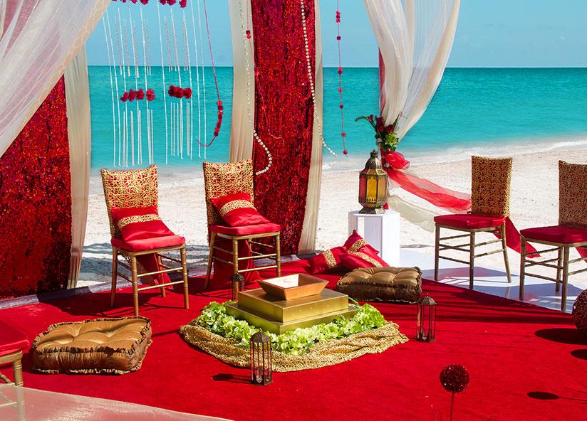 Palace Weddings, Hindu Wedding Set Up