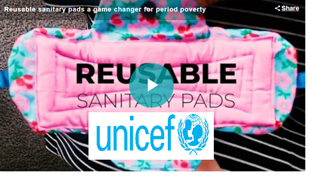 Supreme Sanitary Pads UNICEF interview Evelien Post