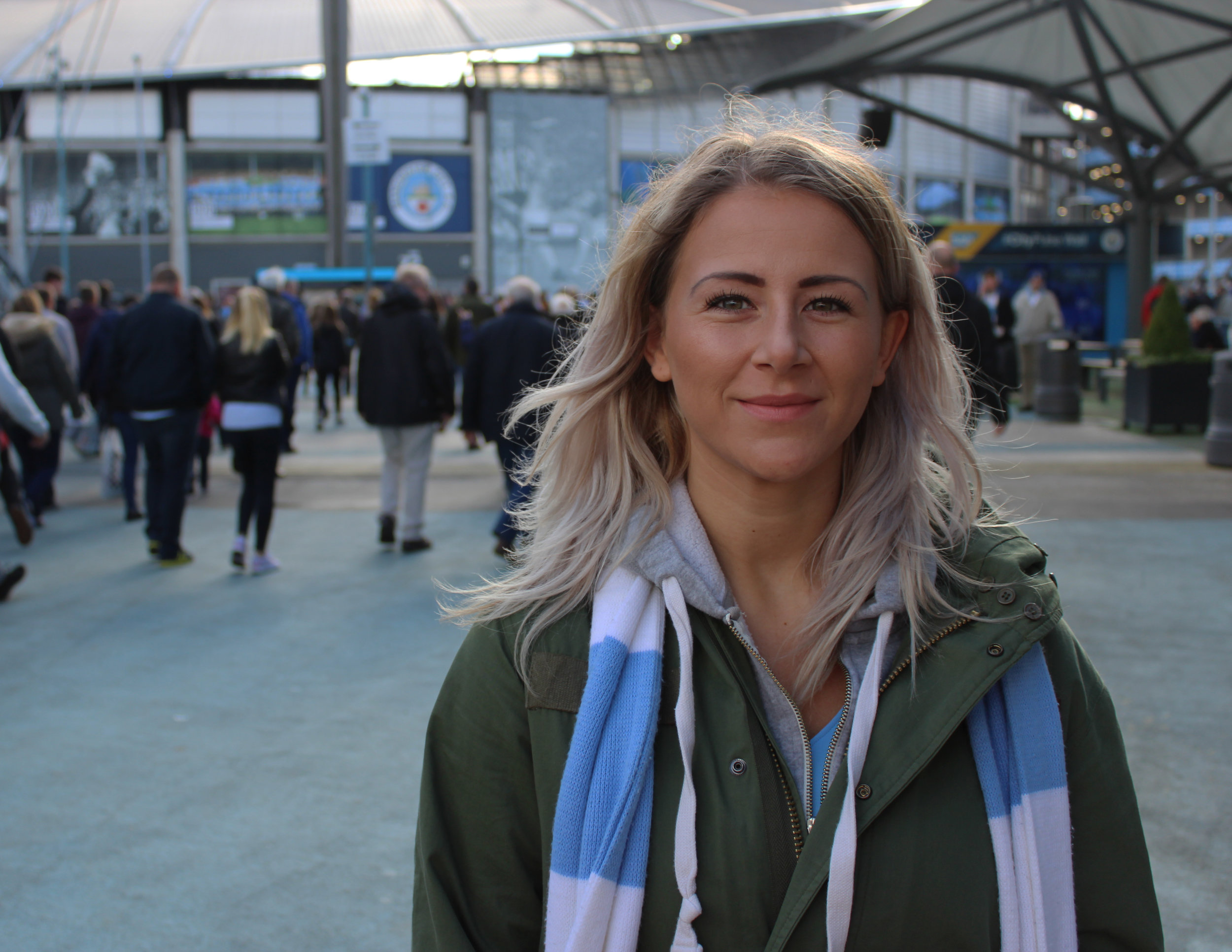 Manchester City Female Football Fan - This Fan Girl