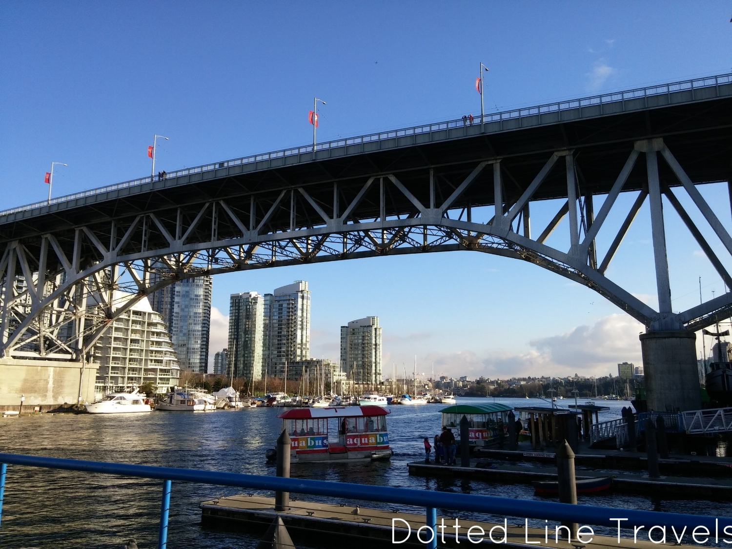 View from Vancouver's Granville Island!