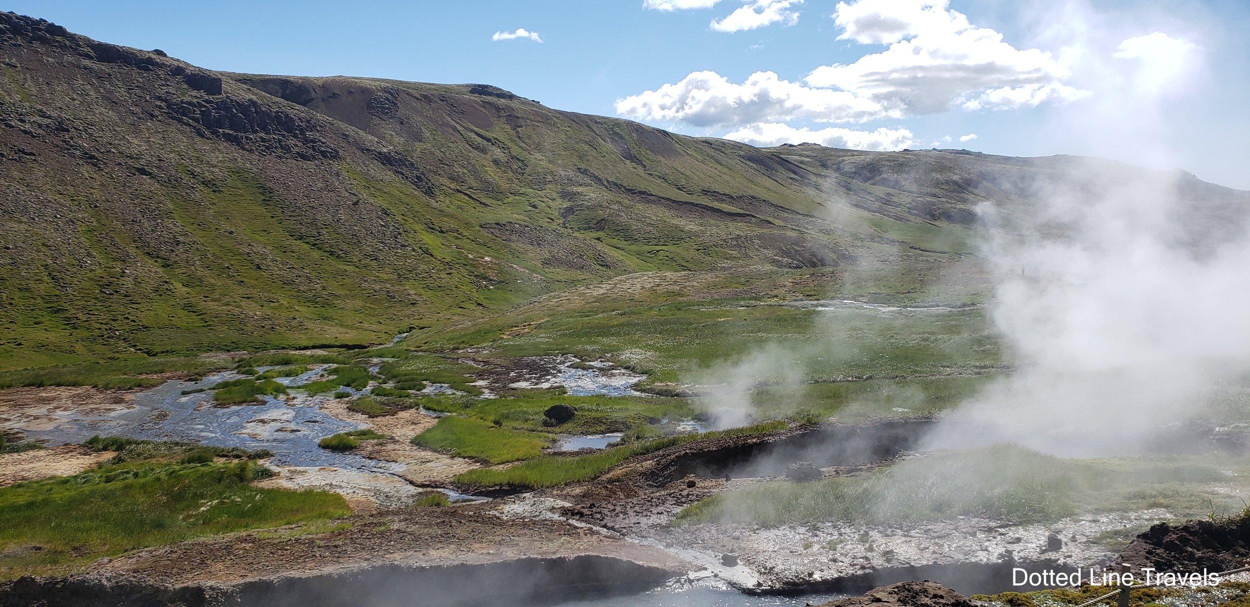 Reykjadalur Hot Springs Iceland