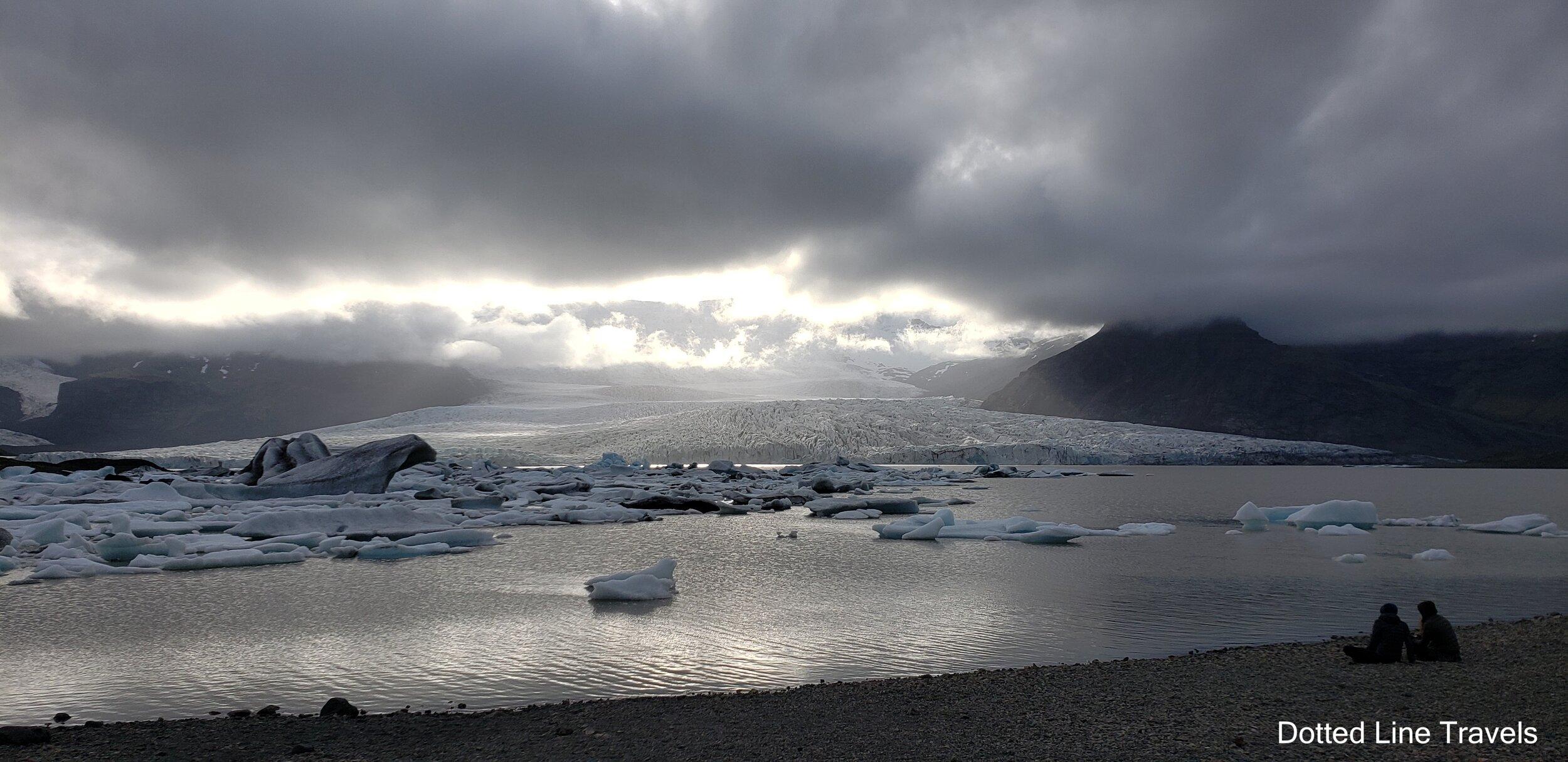 Fjallsjokull Glacier Iceand