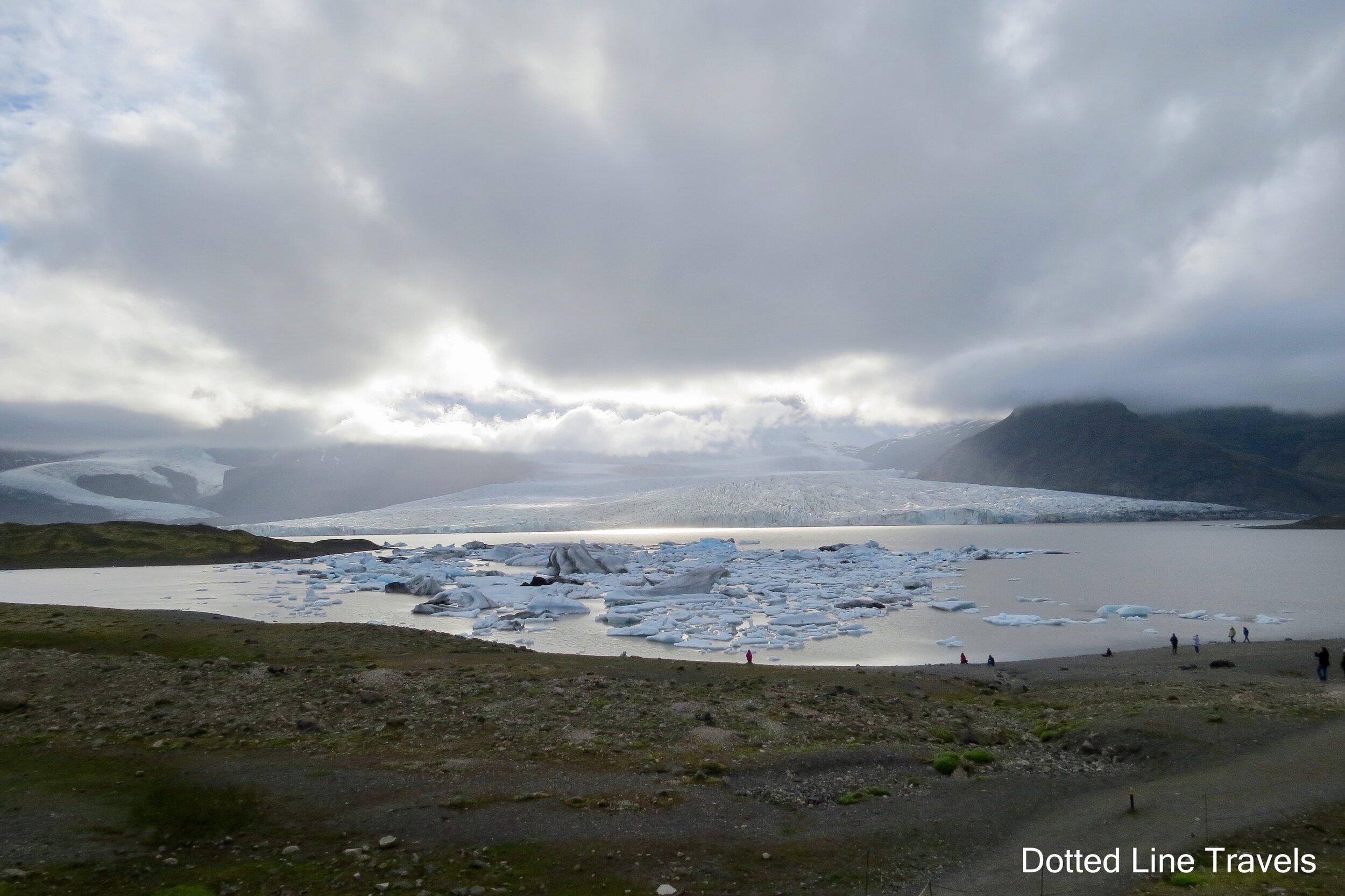 Fjallsjokul Glacier Iceland
