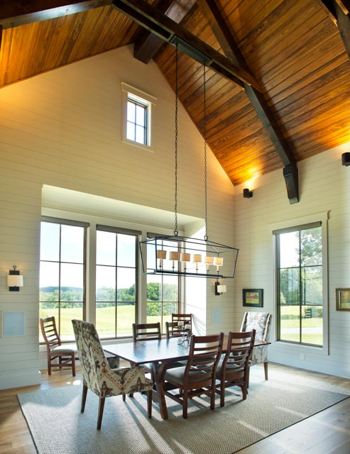 Luxury Country Farmhouse Dining Room