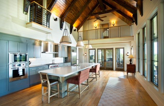 Luxury Country Farmhouse Gray Kitchen