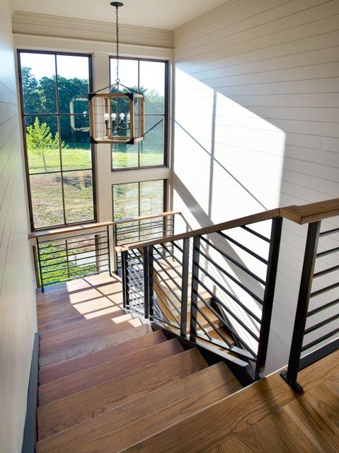 Luxury Country Farmhouse Staircase