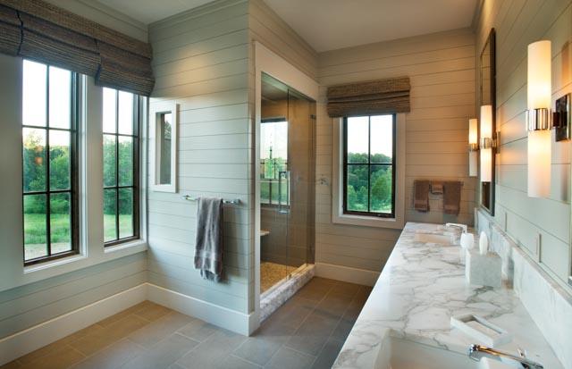 Luxury Custom Home Master Bathroom