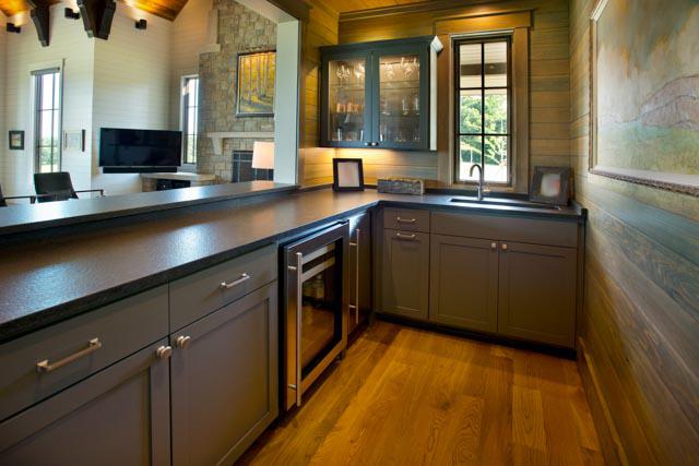 Luxury Custom Farmhouse Kitchenette