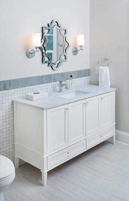 Modern Custom Home Bathroom