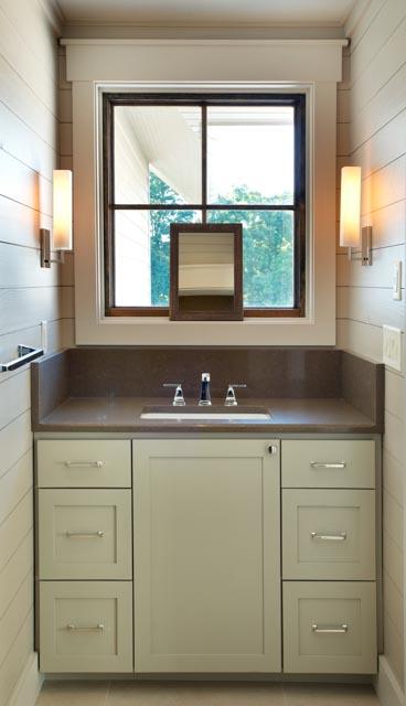 Luxury Custom Home Guest Bathroom
