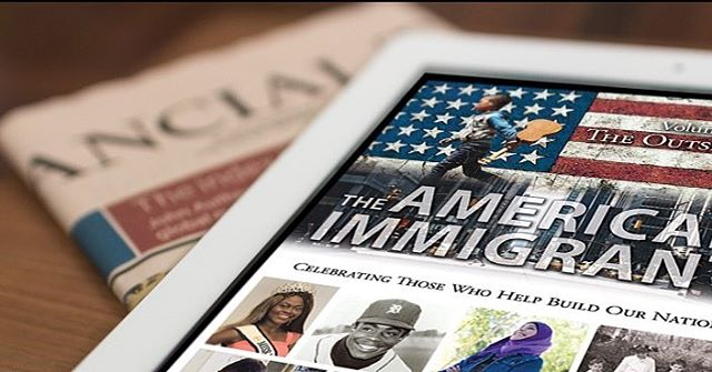"""The American Immigrant: Volume One: The Outsiders"" by authors Dick Gephardt and Mark Russell is now available on Amazon as a Kindle Single exclusive! Click the link in our bio for access. #theamericanimmigrant #iamanimmigrant #ElevatePublishing"