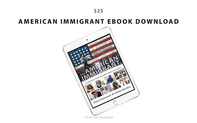 "We would like to show some love to our grassroots supporters with a new $25 reward tier. With only one week left, we need your support now more than ever! This new reward includes an instant digital download of ""The American Immigrant: The Outsiders"" Ebook by Dick Gephardt and Mark Russell 👉🏻 READY, SET, DONATE! (Link in bio) • • • • • #theamericanimmigrant #supportimmigrants #proimmigrant #proimmigration #refugeeswelcome #positiveimmigration #supportrefugees #resist #immigrationban #strongertogether #diverse #diversity #immigrationreform #immigrantdocumentary"
